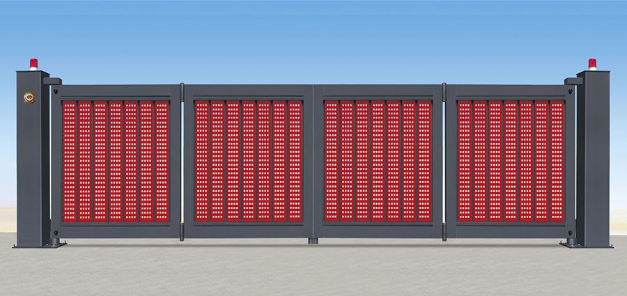 悬折门LX05